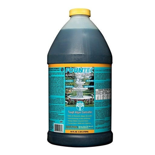Fountec Fountain Algaecide Clarifier