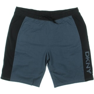 DKNY Mens Colorblock Lounge Casual Shorts - XL
