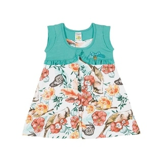 Baby Girl Dress Infant Summer Floral Sundress Pulla Bulla Sizes 3-12 Months