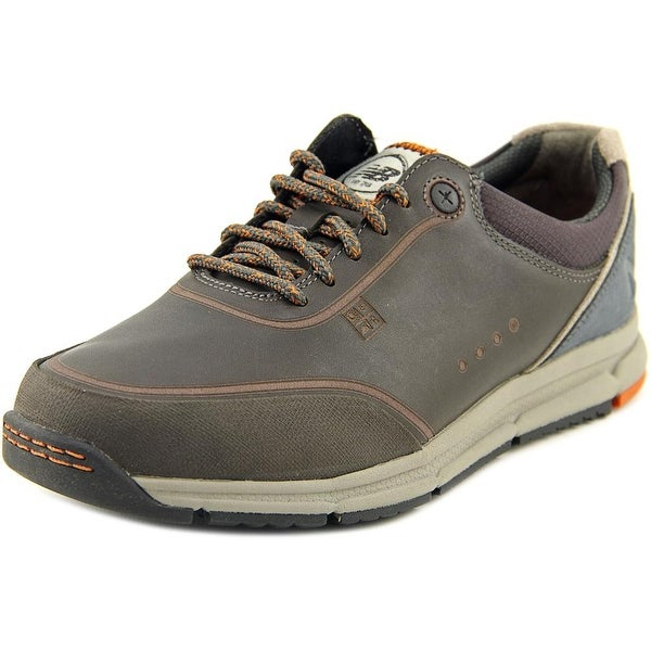 info for da1e9 f2e0d New Balance MW983 Men Round Toe Leather Brown Walking Shoe
