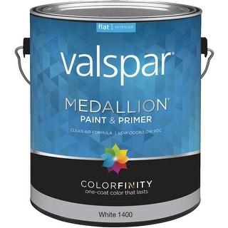 Valspar Int Flat White Paint