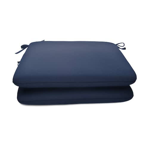 Sunbrella 20 x 18-in. Seat Pads (Set of 2)