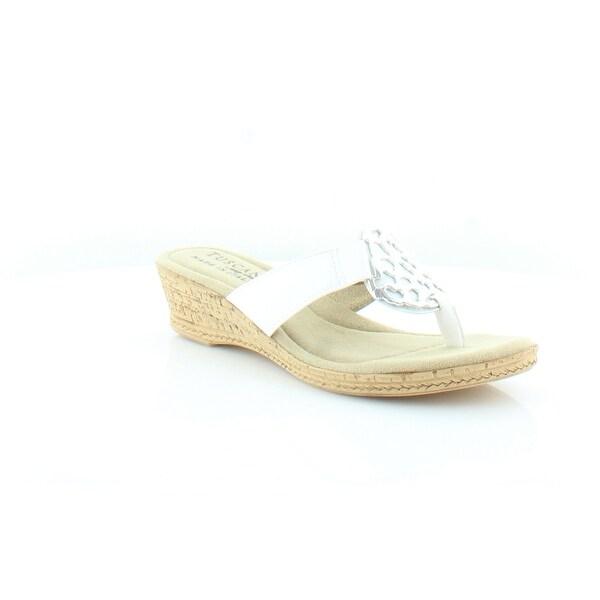 Easy Street Rossano Women's Sandals White