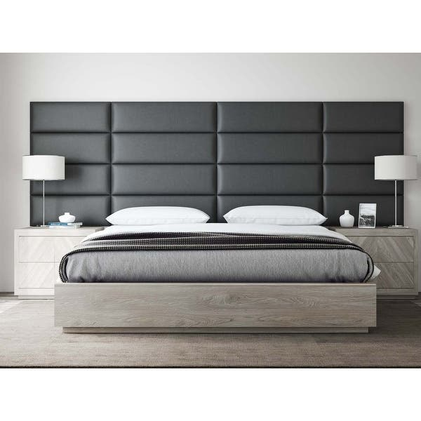 Shop Vant Upholstered Headboards Accent Wall Panels Vintage
