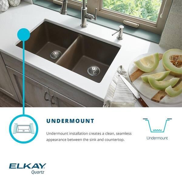 Shop Elkay ELG1616 Quartz Classic 15-3/4\