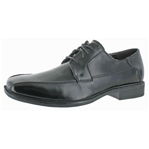 Calvin Klein Men's Fedor Matte Box Leather Oxford Shoe