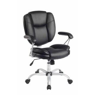 Techni Mobili RTA-0930-BK Plush Task Chair - Black