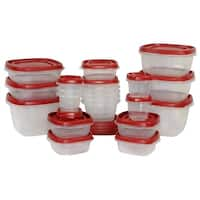 Rubbermaid 1779217 Food Storage Container Set, 24 Piece