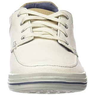 Skechers Mens Landen Stellar Canvas Relaxed Fit Fashion Sneakers