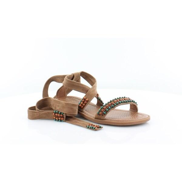 Nine West Xoanna Women's Sandals & Flip Flops Dk Natural