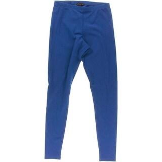 Material Girl Womens Juniors Crepe Pattern Leggings - L