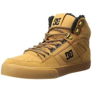 DC Mens Spartan Leather Winterized Skate Shoes