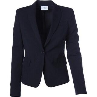 Akris Womens Long Sleeves Solid Blazer - 4