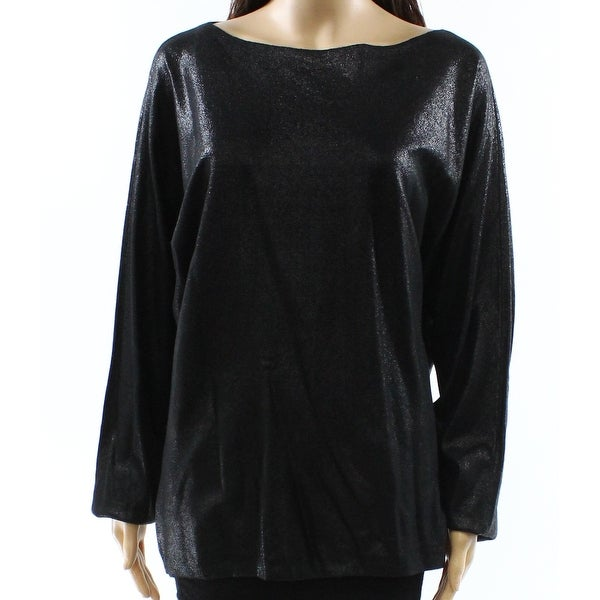 c715b476479a Shop Lauren by Ralph Lauren Black Women's Size Large L Boat Neck Sweater -  On Sale - Free Shipping On Orders Over $45 - Overstock - 26966165