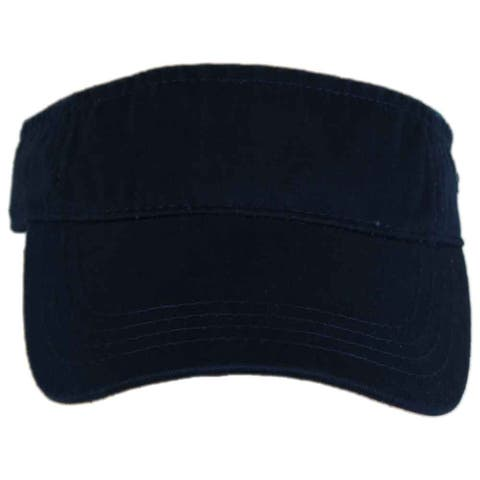 River's End Womens Washed Cotton Visor Athletic Hats Visor