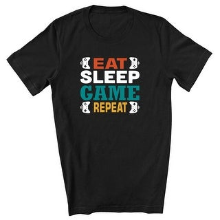 Link to Eat Sleep Game Repeat T-Shirt Similar Items in Shirts