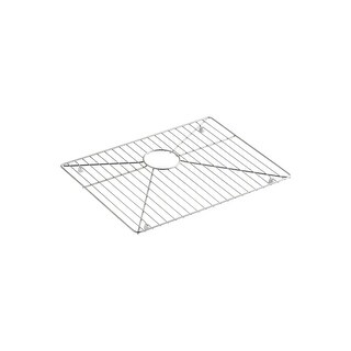 "Kohler K-6645 21-1/4 x 15-19/20"" Vault Series Bottom Sink Rack for K-3822 - STAINLESS STEEL - N/A"