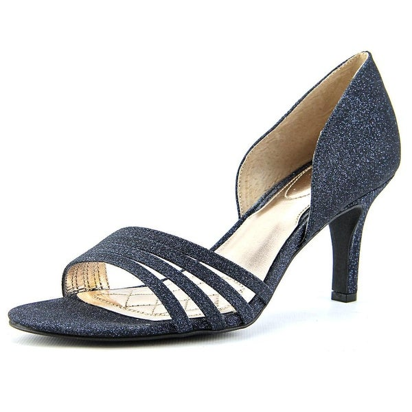 Alfani Giorjah Open-Toe Canvas Heels