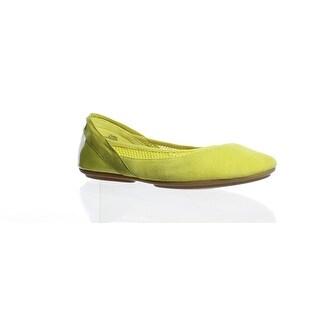 Easy Spirit Womens Yughe Yellow Ballet Flats Size 7.5 (2E)