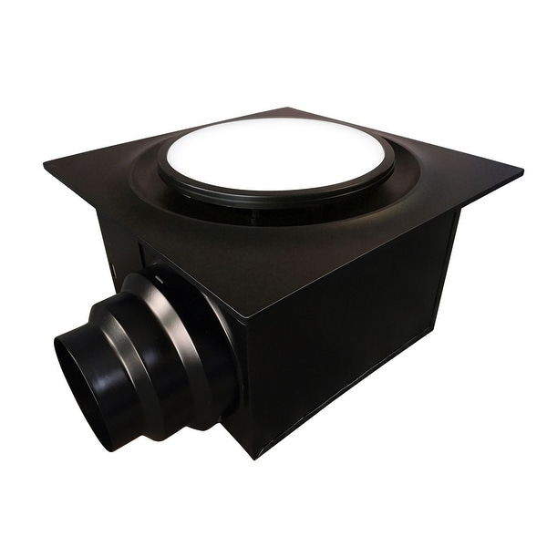Aero Pure ABF110DHL6 110 CFM 0.9 Sone Ceiling Mount Humidity Sensing Exhaust Fan with Energy Star Rating