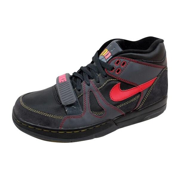 Nike Men's Air Alpha Force II 2 Black/Varsity Red-Anthracite-Bright Mango 307718-061
