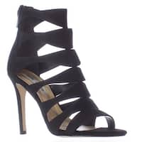 Steve Madden Swyndlee Multi Strap Dress Sandals, Black