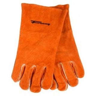 Forney 55206 Lined Leather Welding Glove, Brown