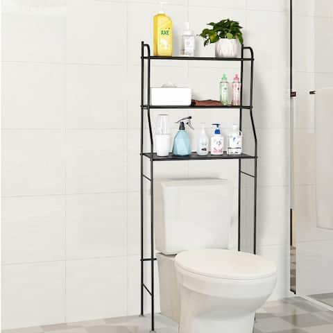 Bathroom Over-toilet Rack Shelf Organizer Stand