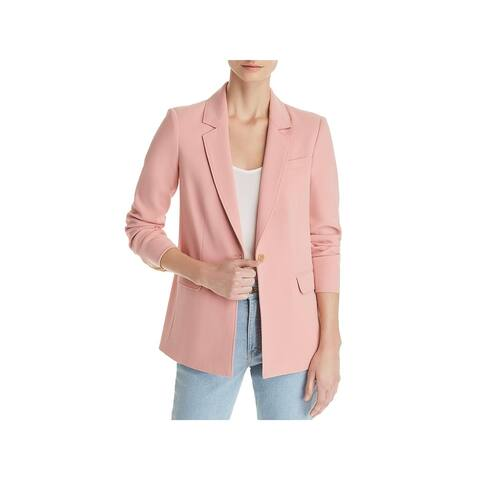 Elizabeth and James Womens One-Button Blazer Double-Breasted Office
