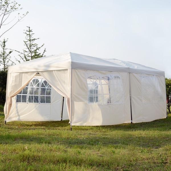 Shop Mcombo 10x20 Ft Ez Pop Up 4 Walls Canopy Party Tent
