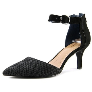 Style & Co Wyild Women  Pointed Toe Synthetic Black Heels