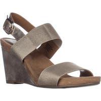SC35 Fillipip Comfort Wedge Sandals, Gold