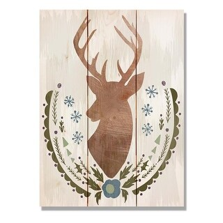 Day Dream HQ FBSC1115 11 x 15 in. Stagg Christmas Wall Art