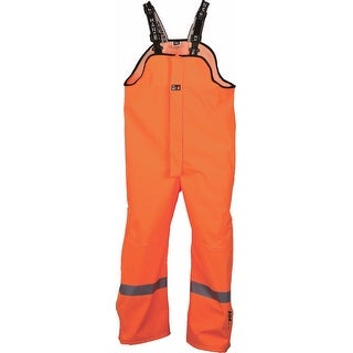 Helly Hansen Workwear Mens Wabush Bib Pant High Visibility - Orange - 3XL