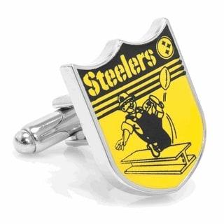 Vintage Pittsburgh Steelers Cufflinks - Yellow
