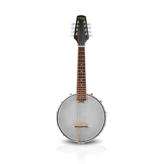 8-String Mandolin-Banjo Hybrid with White Jade Tuner Pegs & Rosewood Fretboard