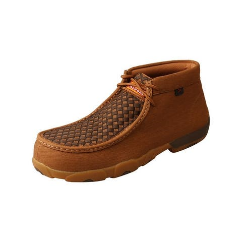 Twisted X Work Boots Mens Chukka Composite Toe Clay Cocoa