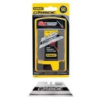 Stanley 11-800L Carbide Utility Knife Blade, 50/Pack