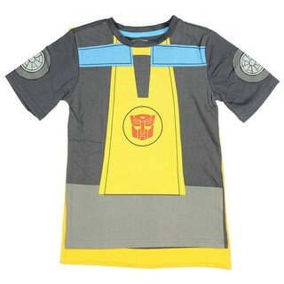 Transformers Rescue Bots Bumblebee Little Boys T-Shirt With Detachable Cape