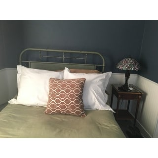 Vintage Distressed Full Metal Headboard Free Shipping