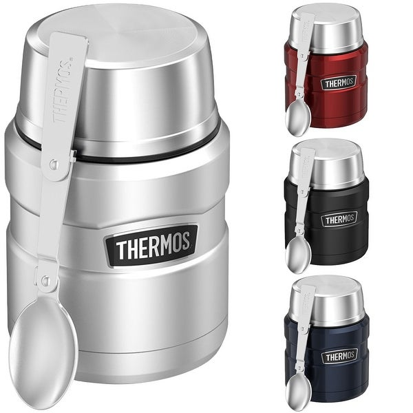 Thermos 16 oz. Stainless King Vacuum Insulated Stainless Steel Food Jar - 16 oz.