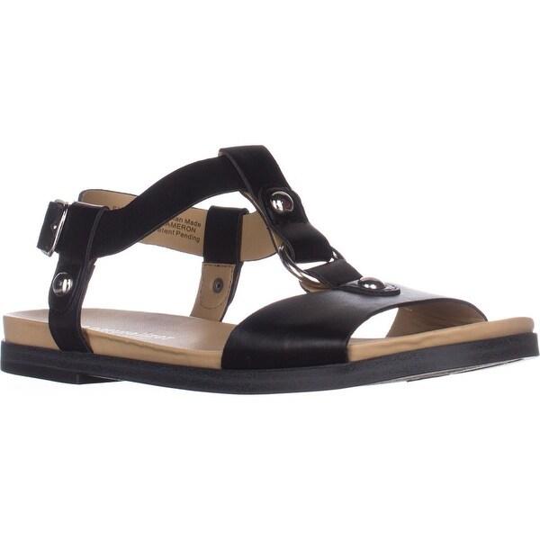 naturalizer Kameron Flat Comfort Sandals, Black - 6 us / 36 eu