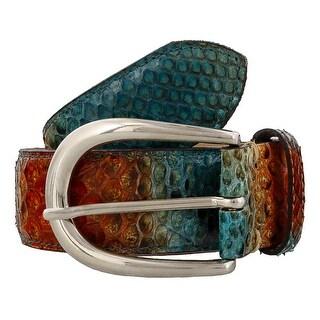 Renato Balestra Ninia Python Leather Womens Belt