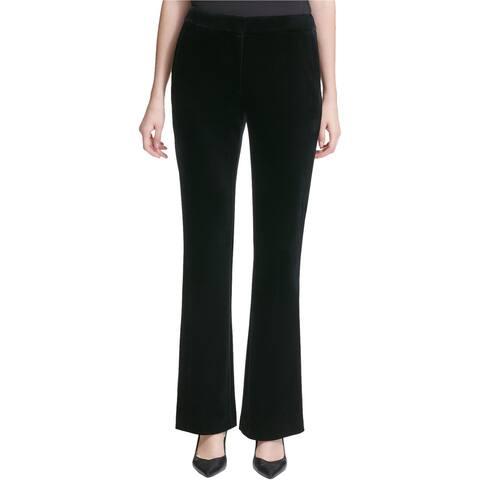Calvin Klein Womens Velvet Casual Trouser Pants