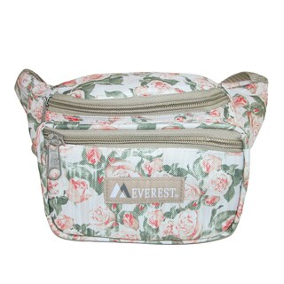 Everest Pattern Multi Compartment Waistpack - One size