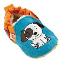 Acorn Infant Easy-On Moc Teal Puppy