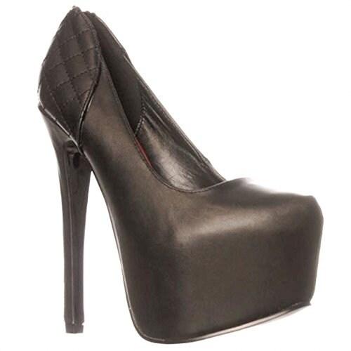 Scene Inna Platform Pump Heels - Black - 7