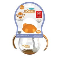 Lansinoh mOmma Straw Cup with Dual Handles BPA Free, 12 Months+ Stage 3