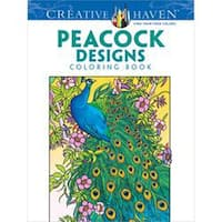 Creative Haven Peacock Designs - Dover Publications