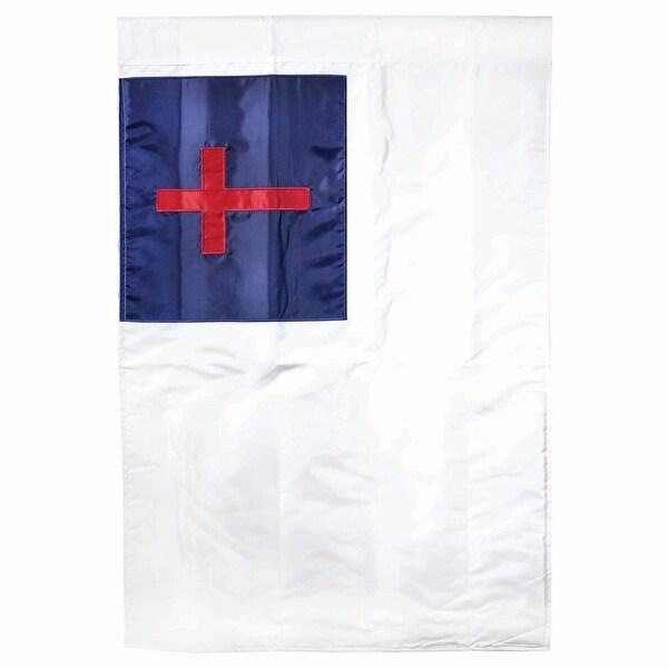 "Christian Flag Garden Banner 44"" x 30"" - N/A"